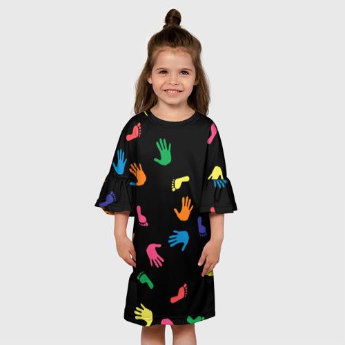 Детское платье 3D Отпечатки Фото 01