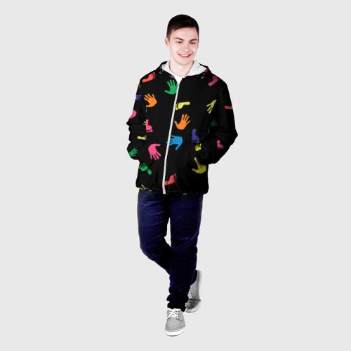 Мужская куртка 3D  Фото 03, Отпечатки