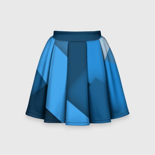 Детская юбка-солнце 3D Абстракт