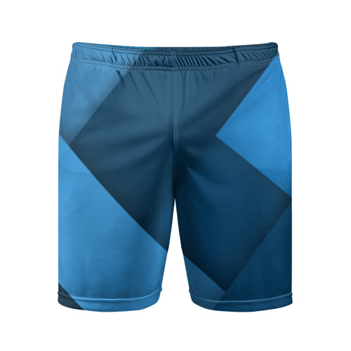 Мужские шорты 3D спортивные Абстракт