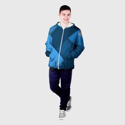 Мужская куртка 3D  Фото 03, Абстракт