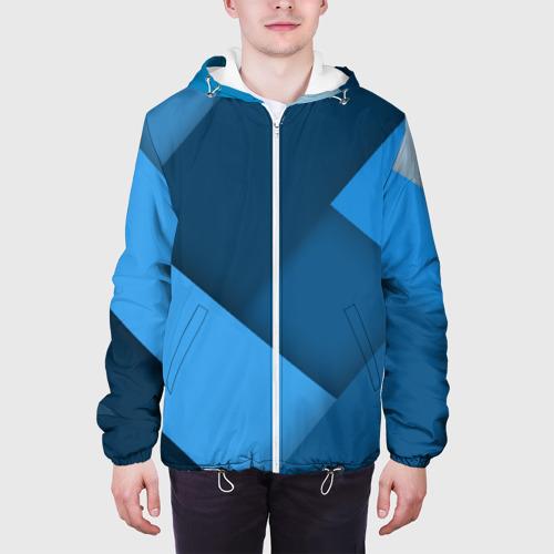 Мужская куртка 3D  Фото 04, Абстракт