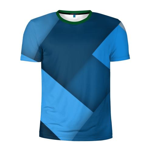 Мужская футболка 3D спортивная Абстракт