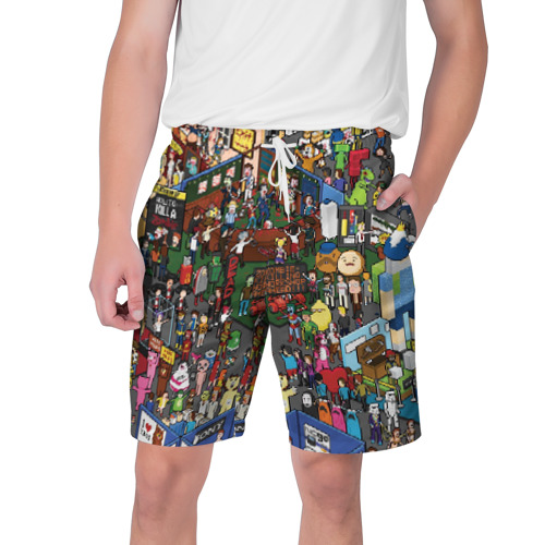 Мужские шорты 3D Стикермаркет
