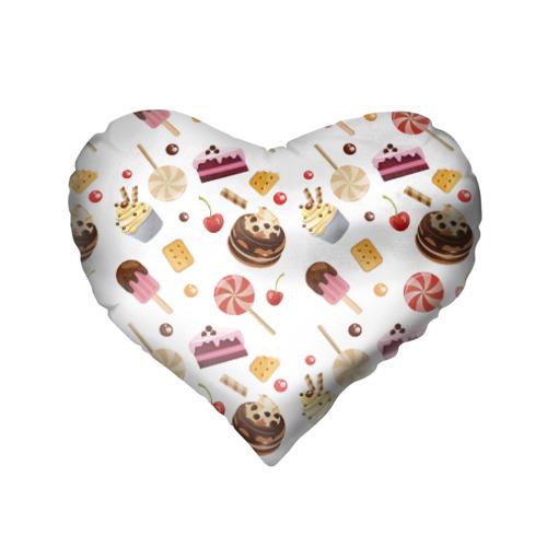 Подушка 3D сердце  Фото 02, Sweet time