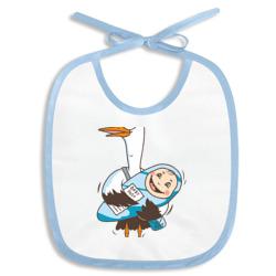 Аист с малышом