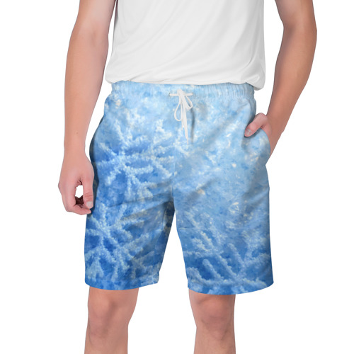 Мужские шорты 3D Снег