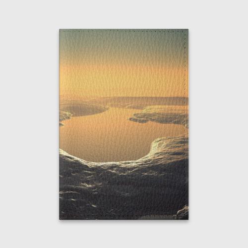 Обложка для паспорта матовая кожа  Фото 01, Закат