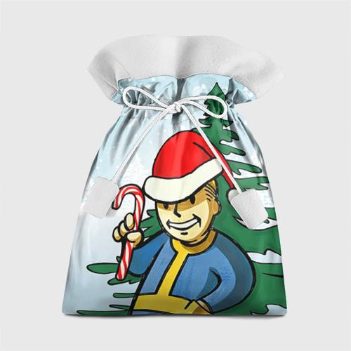 Подарочный 3D мешок Новогодний Fallout