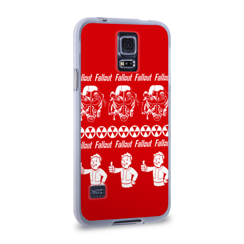 Чехол для Samsung Galaxy S5 силиконовый  Фото 02, Fallout свитер