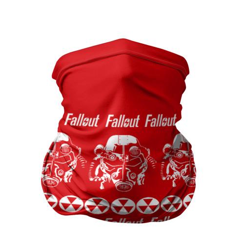 Бандана-труба 3D Fallout свитер
