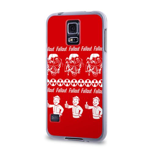 Чехол для Samsung Galaxy S5 силиконовый  Фото 03, Fallout свитер