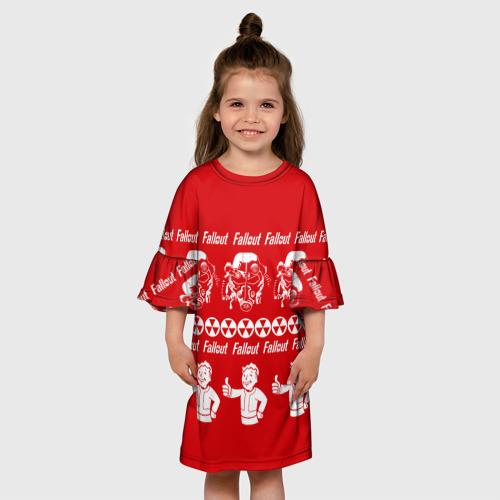 Детское платье 3D  Фото 01, Fallout свитер