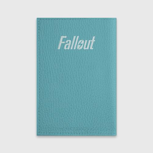 Обложка для паспорта матовая кожа  Фото 02, Новогодний Fallout