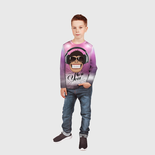 Детский лонгслив 3D  Фото 05, Веселого Нового Года!