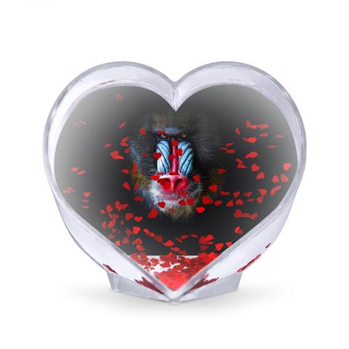 Сувенир Сердце  Фото 02, Мандрил