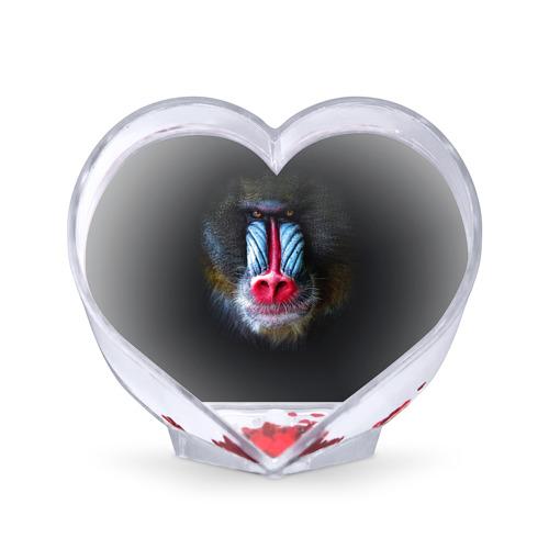 Сувенир Сердце  Фото 01, Мандрил