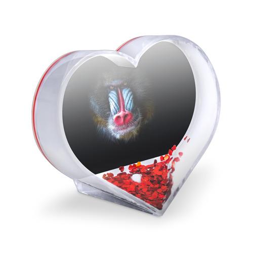 Сувенир Сердце  Фото 03, Мандрил