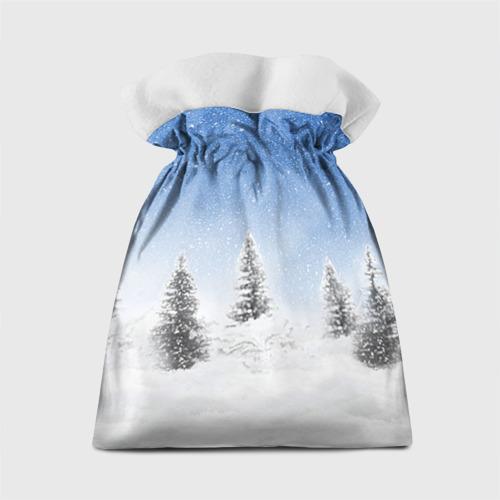 Подарочный 3D мешок  Фото 02, Снеговик