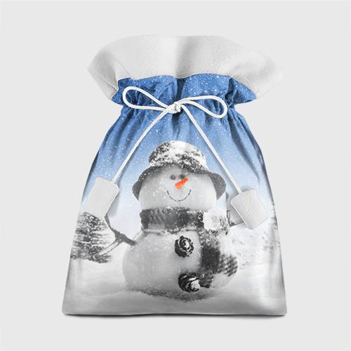 Подарочный 3D мешок Снеговик