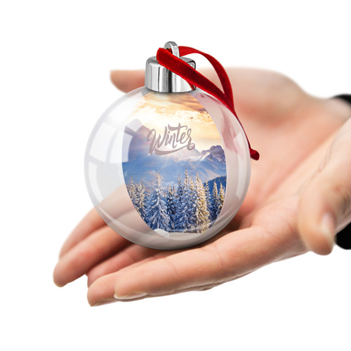 Ёлочный шар  Фото 02, Winter