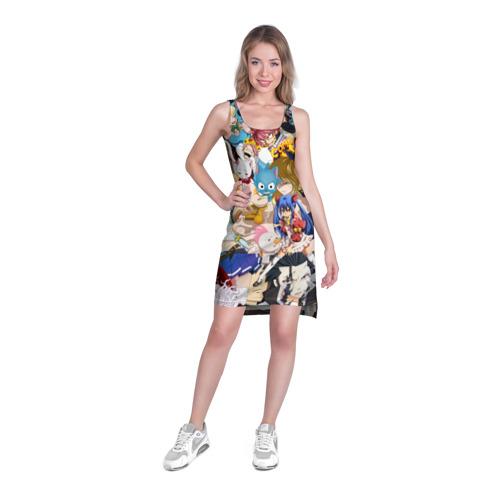 Платье-майка 3D  Фото 03, FairyTail