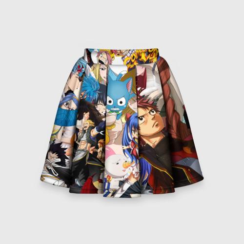 Детская юбка-солнце 3D FairyTail