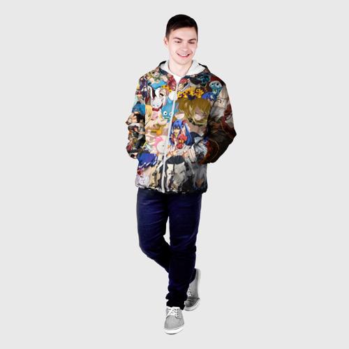 Мужская куртка 3D  Фото 03, FairyTail