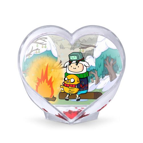 Сувенир Сердце Фин и Джейк от Всемайки
