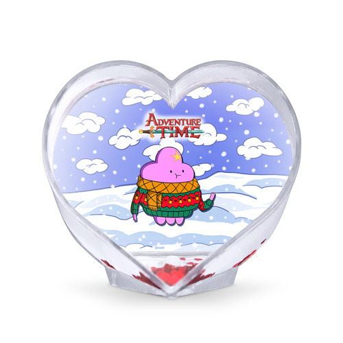 Сувенир Сердце Пупырка в свитере от Всемайки