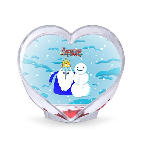 Сувенир Сердце Ледяной король от Всемайки