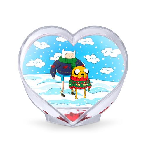 Сувенир Сердце  Фото 01, Фин и Джейк