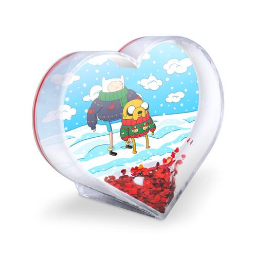 Сувенир Сердце  Фото 03, Фин и Джейк