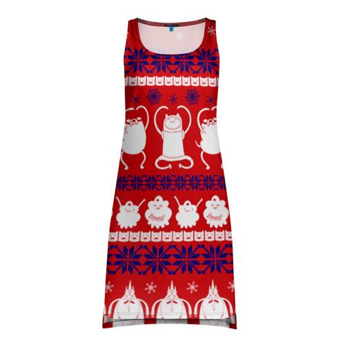 Платье-майка 3D Время приключений свитер
