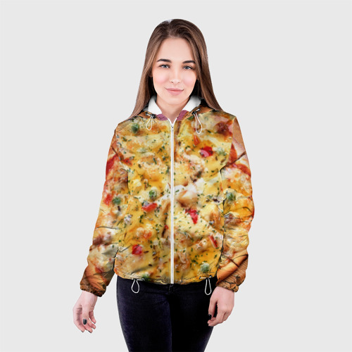 Женская куртка 3D  Фото 03, Пицца