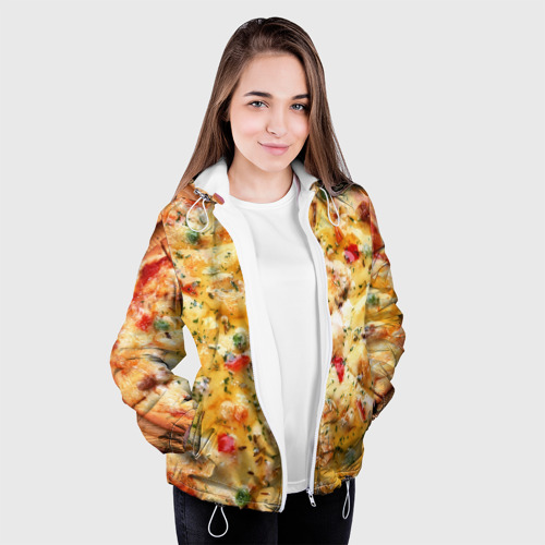 Женская куртка 3D  Фото 04, Пицца