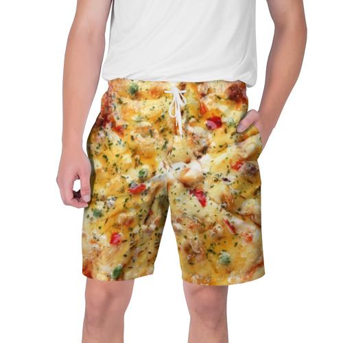 Мужские шорты 3D Пицца