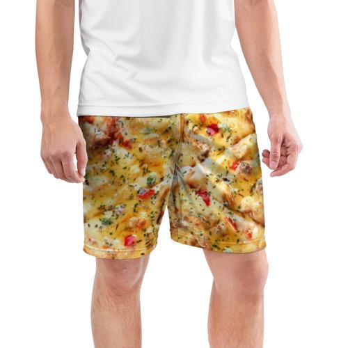 Мужские шорты 3D спортивные  Фото 03, Пицца