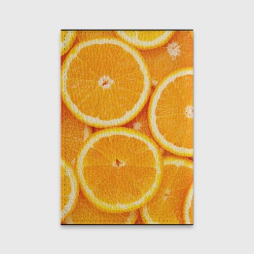 Обложка для паспорта матовая кожа  Фото 02, Апельсинчик