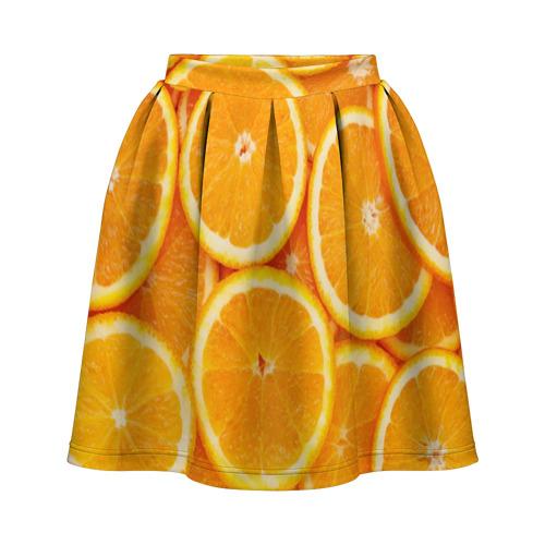 Юбка-солнце 3D Апельсинчик