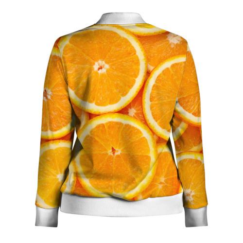 Женская олимпийка 3D  Фото 02, Апельсинчик