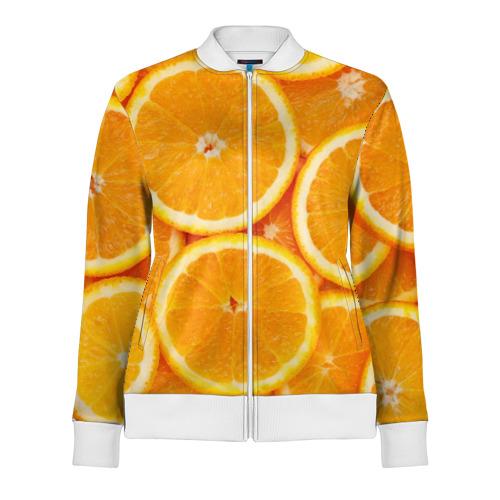 Женская олимпийка 3D Апельсинчик