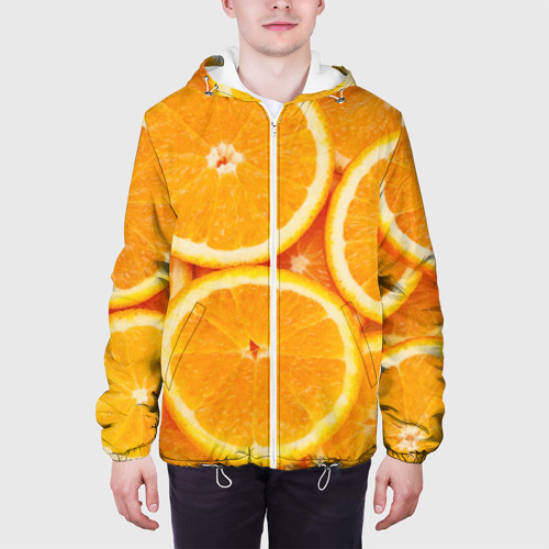 Мужская куртка 3D  Фото 04, Апельсинчик
