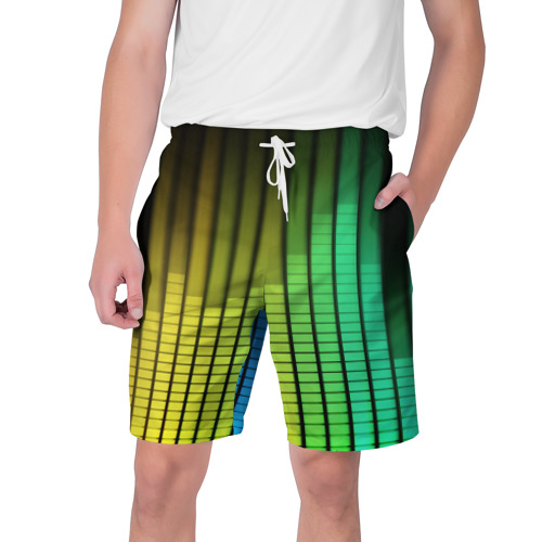 Мужские шорты 3D Эквалайзер