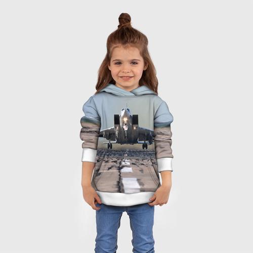 Детская толстовка 3D  Фото 01, Самолёт