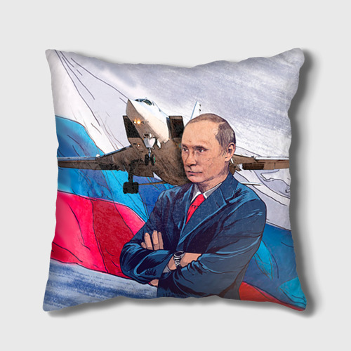 Подушка 3D Путин от Всемайки