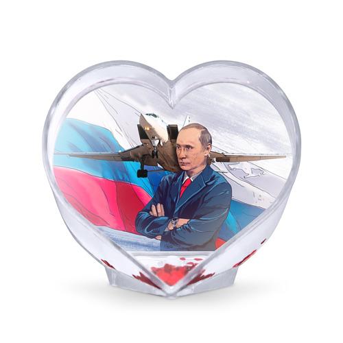 Сувенир Сердце Путин от Всемайки