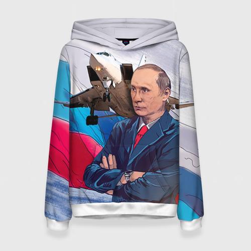 Женская толстовка 3D Путин от Всемайки