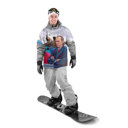 Накидка на куртку 3D  Фото 03, Путин