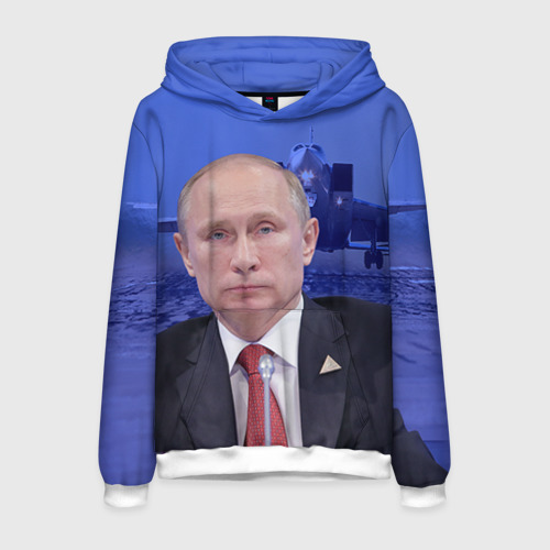 Мужская толстовка 3D Путин от Всемайки